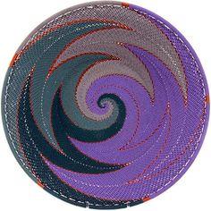 African Basket - Zulu Wire - Shallow Bowl #38805
