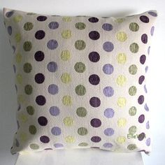 Decorative Green/purple Dots Chenille Throw Pillow Cover (One Side) Elleweideco,http://www.amazon.com/dp/B00CS3MGL8/ref=cm_sw_r_pi_dp_-5Bjtb0WWJT9858G