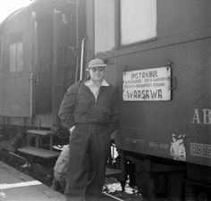 Orient Express - somewhere in Yugoslavia - 1950'