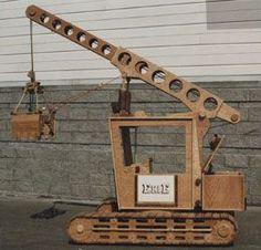 Robert Clark Rutkowski's Toy Crane that he build for the terminally ill children of Doernbecher's Children's Hospital in Portland, OR.