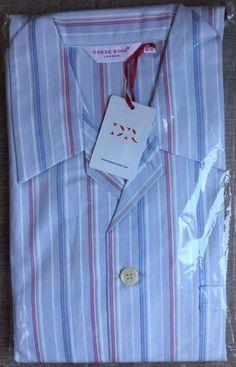 Derek Rose Men/'s Pyjamas Barker 1 Lightweight New Bag S L M XL  RRP£180