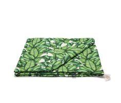 Bambusz takaró vékony töltettel - tavaszi-nyári - Banana Leaves - Bubbaland.hu Baba, Outdoor Blanket, Marvel