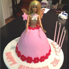 Princess fairy cake