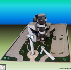 CENTRO EJECUTIVO: Cuatro edificios interconectados en diferentes niveles y a través de un jardín central ubicado en la planta baja del conjunto.   Continua en el próximo post…