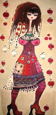 ♥ Dancing with pomegranates