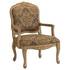 Bella French Provincial Accent Chair - Overstock™ Shopping - Great Deals on Living Room Chairs
