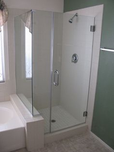 Bathroom Shower Glass Door Cleaning · Fiberglass Shower EnclosuresMaster ...