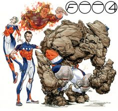 Super Punch: Fantastic Four redesign contest results