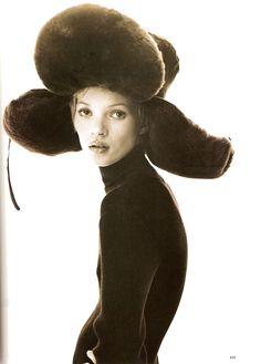 Kate Moss by Steven Klein for Harper's Bazaar 1993