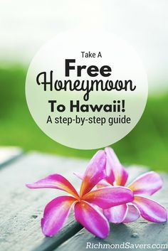 We took a 12-night honeymoon to the islands of Maui and Kauai for FREE and it was unquestionably the best trip of our lives! #hawaii #travel #honeymoon #wedding http://www.richmondsavers.com/take-a-free-honeymoon-to-hawaii-step-by-step-instructions/