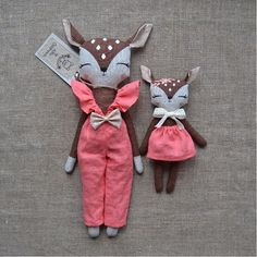 ✨A new look from Mom Deer.Overalls of coral linen fabric.