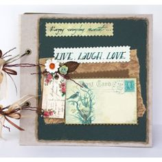 Enjoy every moment * Scrapbook - Live laugh love * Ideal for wedding reception or home décor * Design by Fairy Corner - Fairycorner.vn