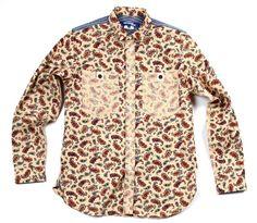 Junya Watanabe MAN Paisley Inside Out Shirt