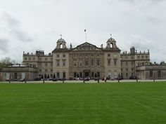 Badminton House, family seat of the Duke of Beaufort. Also home to the Badminton Horse Trials
