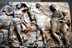 54 mármoles del Partenón British Museum Londres