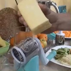 Get OFF Today!Multi-function Rotating Grater Vegetable Fruit Cutter - - Get OFF Today!Multi-function Rotating Grater Vegetable Fruit Cutter OFF Today! Cool Kitchen Gadgets, Kitchen Items, Cool Kitchens, Kitchen Dining, Kitchen Decor, Cooking Gadgets, Cooking Tools, Cooking Beef, Cooking Time