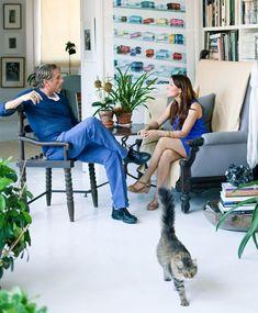 Vincente Wolfe's cat