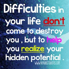 good morning recovery quotes   motivational-quotes-Difficulties-in-your-life-don't-come-to-destroy ...