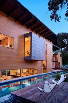 envibe:Building: Hog Pen Creek Residence Created by: Lake|FlatoPost II, by ENVIBE.CO