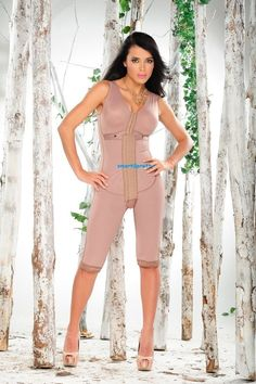 63ffb864a9d Full Body Colombian Girdle Complete With Bra