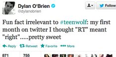 16 Tweets That Prove Dylan O'Brien Is The Best At Twitter