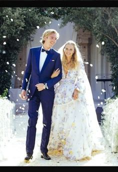 Poppy Delevingne at her wedding to James Cook in Morocco