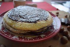 Un gâteau de crêpes gourmand au chocolat et aux noisettes et pas que pour la Chandeleur :-)
