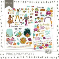 Happy Dance | Bible Journaling Printable Ephemera by Illustrated Faith Faith Bible, Happy Dance, Illustrated Faith, Mind Blown, Ephemera, Pray, Illustration, Journaling, Fun