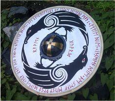 Norse Varangian Guard Symbol   Viking Raven Guard. by Edwulff