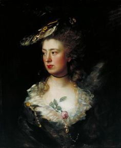 Thomas Gainsborough, 'The Artist's Daughter Mary' 1777