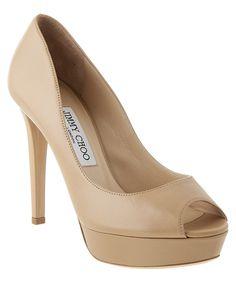 89d06239ecec JIMMY CHOO Jimmy Choo Dahlia 115 Leather Peep-Toe Platform Pump .  jimmychoo   shoes  pumps   high heels