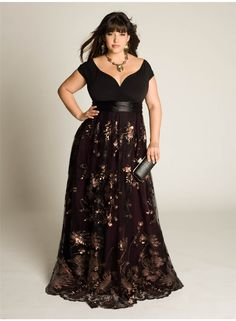 2014 New Arrival Custom Made Matched Sash Floor Length A-Line V-Neck Short Sleeve Lace Black Long Plus Size Evening Dresses E50