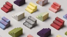 As a Christmas gift to their clients, Universal Favourite created a series of mix-and-match colourful chocolates from 3D-printed moulds