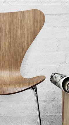 Series 7 - 3107, Chair, Lacquered - Fritz Hansen