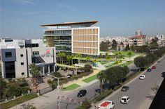 Adana Ticaret Odası Yarışma Projesi, Görselleştirme Çalışması. Proje Müellifi: Sepin Mimarlık