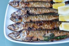 Broiled Herb-Stuffed Sardines | Award-Winning Paleo Recipes | Nom Nom Paleo