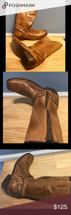Gorgeous Bed Stu Boots!!! Excellent condition! Bed Stu is known for quality craftsmanship and these boots are a prime example!! The Leather is gorgeous and the boots are in excellent used condition. Only flaw is a couple of dark dots on the side of left boot (see photo 3). Bed Stu Shoes Heeled Boots