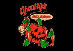 Kool-Aid T-Shirt by Jared Moraitis aka BeastPop. GHOOOUL-AID is a parody of the Kool-Aid man and it makes a great t-shirt for Halloween. Halloween Quotes, Halloween Pictures, Halloween Art, Holidays Halloween, Halloween Treats, Happy Halloween, Halloween Horror, Costume Halloween, Funny Halloween