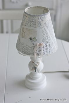 Our first lamp - Read Mae   www.24Homes.nl