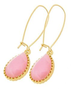 Let it Fall Baby Pink Earrings - Krimson and Klover a Women's Clothing Boutique