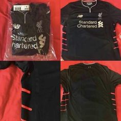 Leaked  First pictures of Liverpools 2016 17 away kit Liverpool 2016 8189cefcc