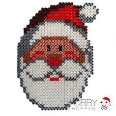 Santa Christmas Hama perler beads