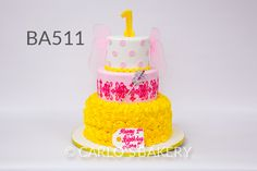 Baby Birthday Cake from Carlo's Bakery, cross,christening, communion