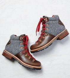Brown Woolrich Rockies Hiker Boot