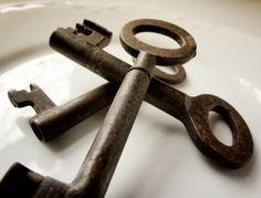 Vintage keys from Belgium...