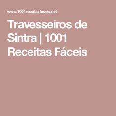 Travesseiros de Sintra | 1001 Receitas Fáceis