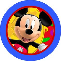 Custom Mickey Mouse Birthday Cupcake Toppers by BowHeadBittyBottom, $2.99