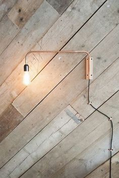 Minimalistic wall lamp