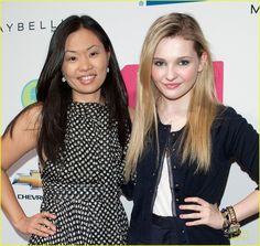 ‪#‎tbt‬ to me and one of my favorite Scream Queens Abigail Breslin wearing my Little Note Icon ‪#‎abigailbreslin‬ ‪#‎screamqueens‬ ‪#‎alexwoo‬ ‪#‎woospotting‬ ‪#‎littleicons‬ ‪#‎littlerockstar‬ ‪#‎doublenote‬ ‪#‎lovegold‬ ‪#‎madeinny‬ http://www.alexwoo.com/little-note-double-note-1-in-14-kt-yellow-gold.html