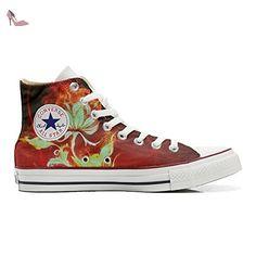 Make Your Shoes Converse Customized Adulte - chaussures coutume (produit artisanal) Purple Paisley size 39 EU TEFcNQhvge